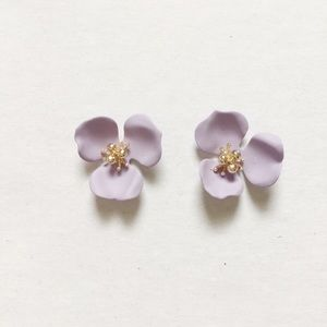 Jewelry - New DOGWOOD Matte Lavender Posts